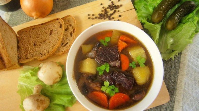 Охотничий суп