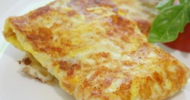 Быстрые конвертики с сыром и яйцом