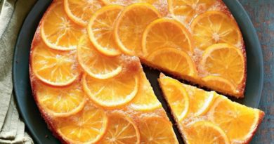 Пирог с апельсинами