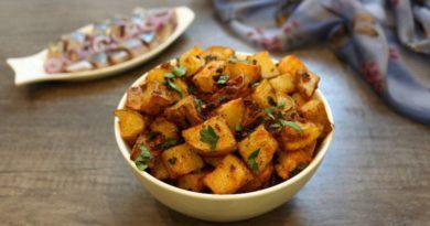 Батата гарра (картофель по-ливански)