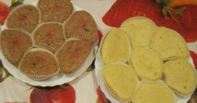 Лимонные маффины в мультиварке