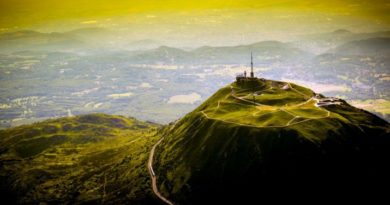 Где во Франции найти город потухших вулканов