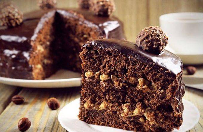 """Современные десерты: торт """"Ферреро Роше"""""""