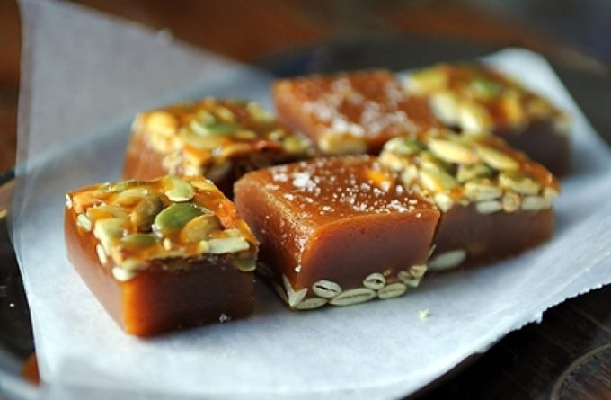 Десерт из тыквы «Карамелька»