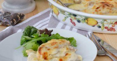Говядина в сырно-сливочном соусе