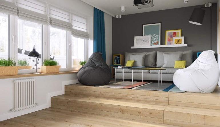 Нужен ли в квартире подиум?