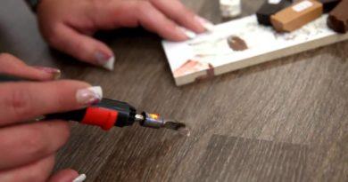Как убрать царапины на ламинате: практичные советы