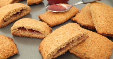 Печенье со сливовым повидлом