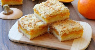 Пирог с тыквой и апельсином