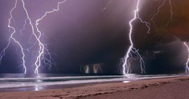 В Гоа на пляже молния убила туриста