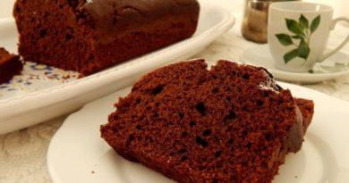 Нежный шоколадный кекс