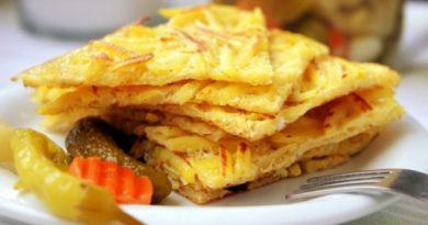 Скоростная картошечка на сковороде