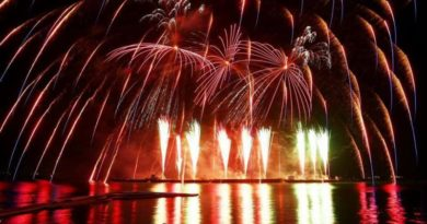 Фестиваль фейерверков пройдет в Паттайе в конце ноября
