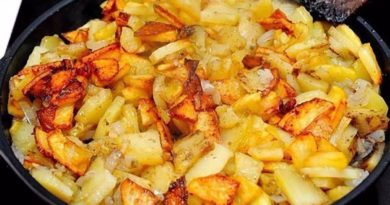 Жарим картошку с румяной корочкой
