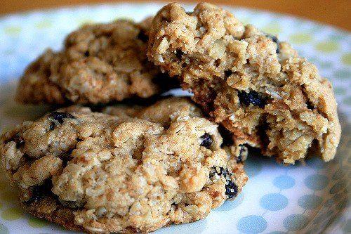 Диетическое овсяное печенье