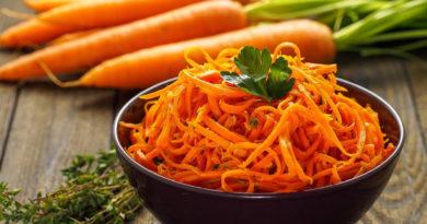 Вкусная корейская морковка