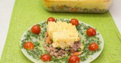 Картофельная запеканка (для детей)