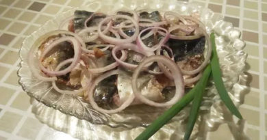 Скумбрия по корейскому рецепту