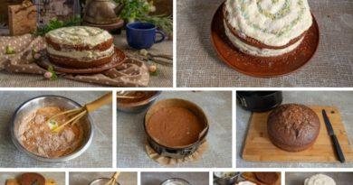 Идеальный шоколадный торт с заварным кремом