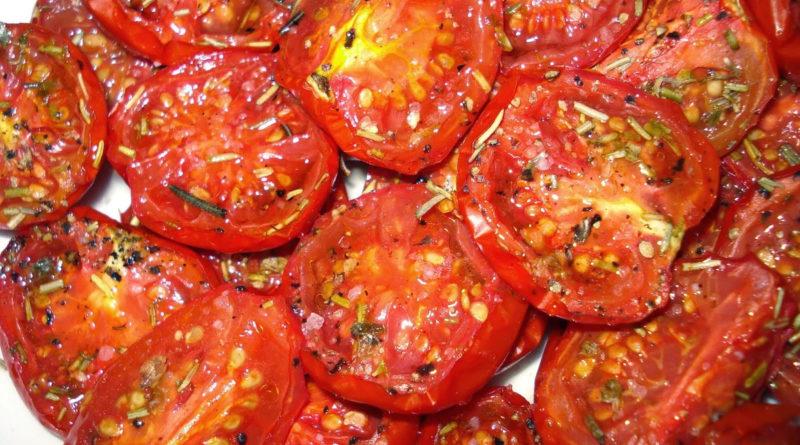 Вяленые помидоры собственного приготовления