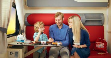 Чем занять ребенка во время длительной поездки поездом