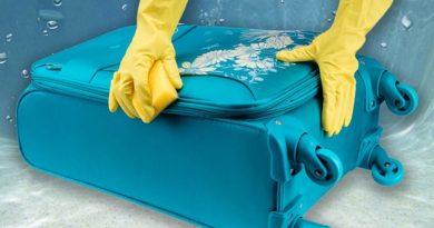 Как почистить чемодан и избавиться от неприятного запаха внутри