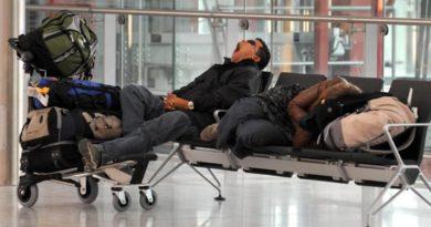5 советов туристам, которым предстоит ночевка в аэропорту