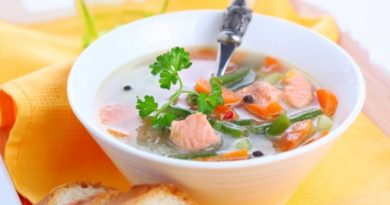 Сырный рыбный суп.