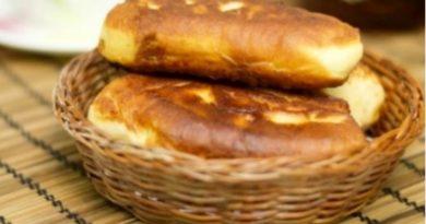 Пирожки домашние с повидлом на сковороде