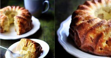 Необычайный рецепт заливного яблочного пирога