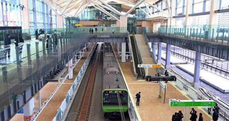 В Токио открылась первая за 50 лет станция кольцевой линии метро