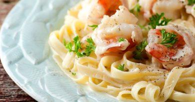 Паста с креветками в сливочном соусе: идеально на ужин
