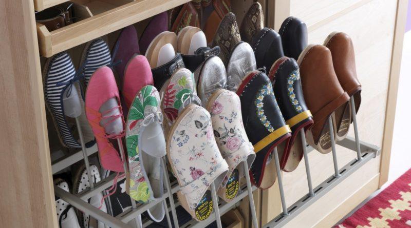 Как хранить обувь?