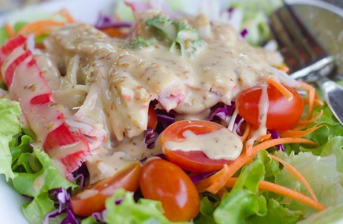 Салат из крабовых палочек и огурцов
