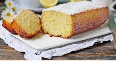 Лимонно-ванильный кекс