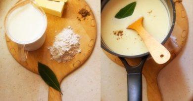 Как приготовить соус бешамель?