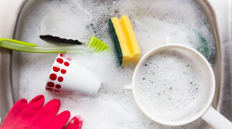 Как правильно вымыть посуду