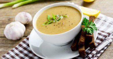 Чесночный суп от простуды