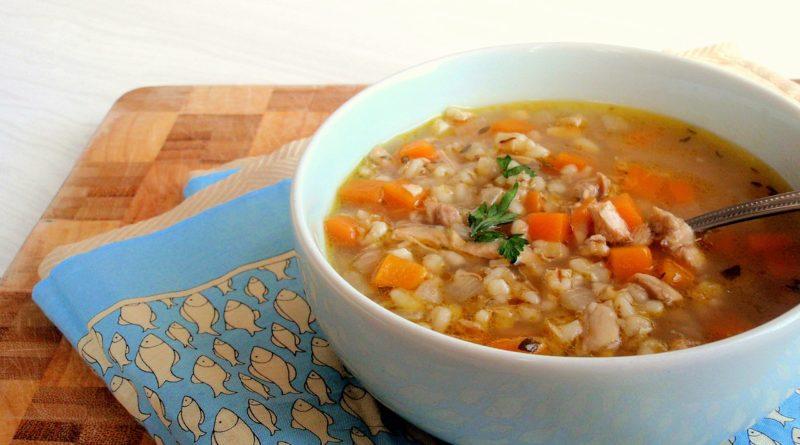 Суп Харчо с перловкой. Суп для похудения