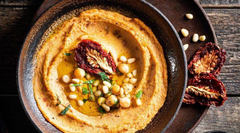 Хумус — быстрая питательная закуска