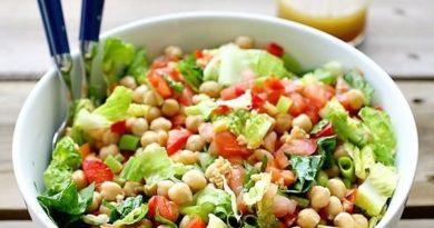 Салат с нутом
