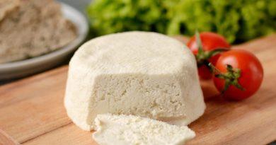 Миндальный веганский сыр