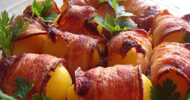 Мясная картошечка
