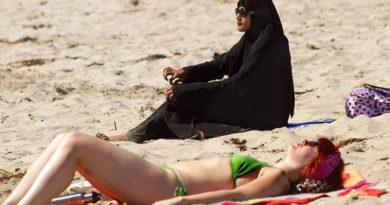 Что надевают мусульманки на пляжах Арабских Эмиратов вместо купальников