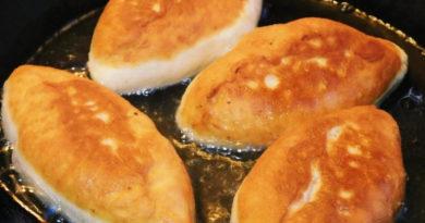 Вкуснейшие жареные пирожки на сковороде из самого простого теста