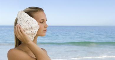 Почему мы слышим море в морской раковине?