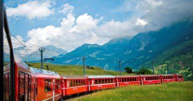 5 самых живописных железнодорожных маршрутов Европы