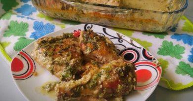 Простой рецепт курочки на ужин «Чикмерули»