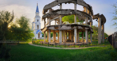 Четыре разрушенных войной здания, которые не были восстановлены и стали памятниками