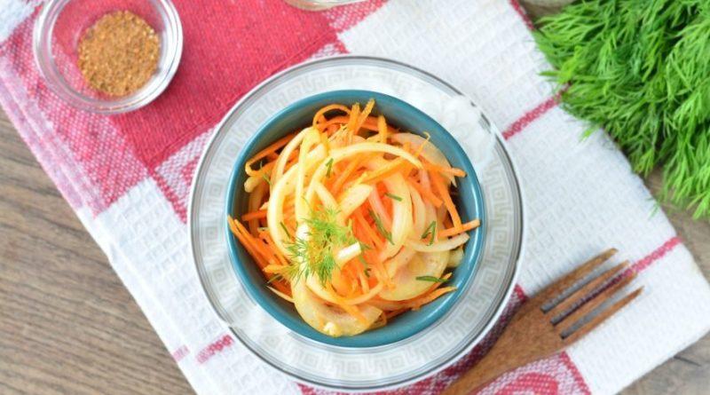 Морковь а-ля по-корейски